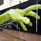 do you need a hand to graffiti that? by Roxy66