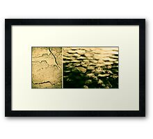 The Quiet Underneath Framed Print