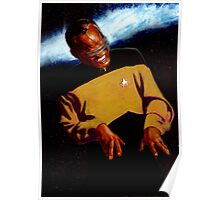 Ray Charles as Geordi La Forge Poster