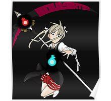soul eater maka albarn soul anime manga shirt Poster