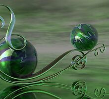 A Swirl in Jade by plunder