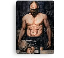 The Fighter Canvas Print
