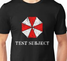 Umbrella Corporation Test Subject Unisex T-Shirt