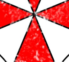 Umbrella Corporation Test Subject Sticker
