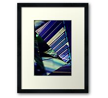 Untitled- projection 1 Framed Print