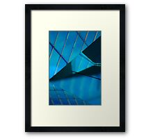 Untitled- projection 6 Framed Print