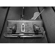 Antique moulding plane Photographic Print