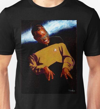 Ray Charles as Geordi La Forge Unisex T-Shirt