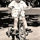 My best buddy on his trike by the57man