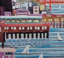 Port of San Francisco Sticker