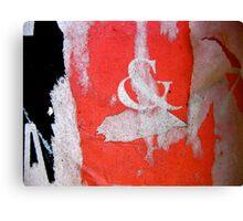 pirouette, centre stage Canvas Print