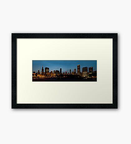 Chicago Blackhawks Stanley Cup Champs Framed Print