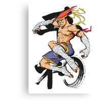 Street Fighter Adon Canvas Print
