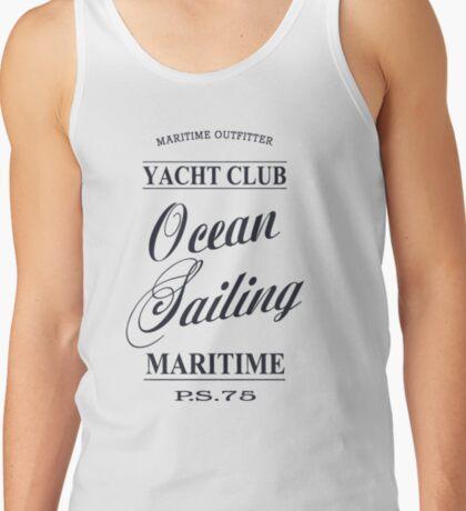 Ocean sailing Tank Top