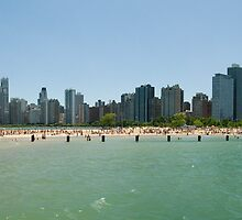 Chicago North Ave Beach by Patrick  Warneka