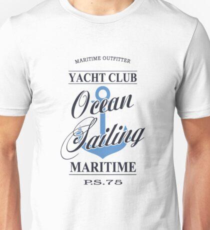 Ocean sailing Unisex T-Shirt
