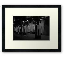 Off Hours Framed Print