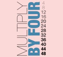 Multiply by Four Kids Clothes