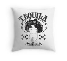 Tequila it makes me happy! Throw Pillow