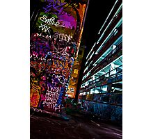 Graffiti Adoption - Melbourne Photographic Print