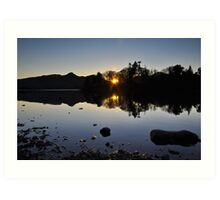 Derwentwater Evening Art Print