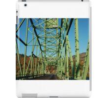 Lime Green Bridge iPad Case/Skin