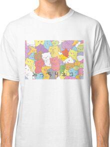 Mitchiri neko Classic T-Shirt