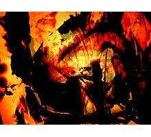 inferno..... Photographic Print