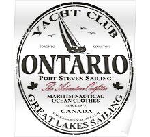 Ontario Sailing Poster