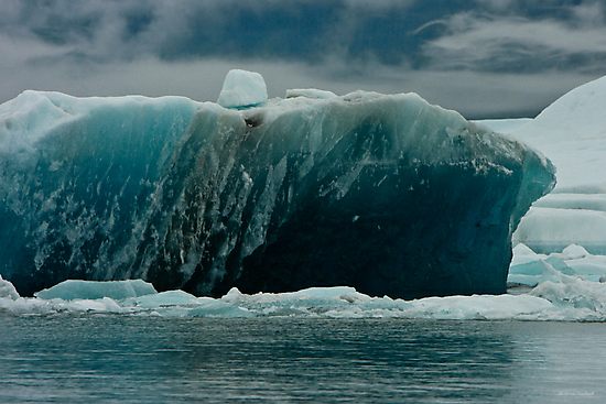 In Remembrance Of A Glacier (view big)  by Melissa Seaback