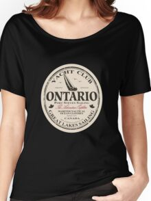 Ontario Sailing Women's Relaxed Fit T-Shirt