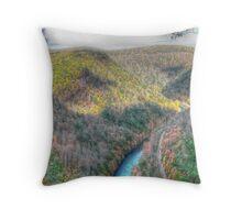 Little Grand Canyon Throw Pillow