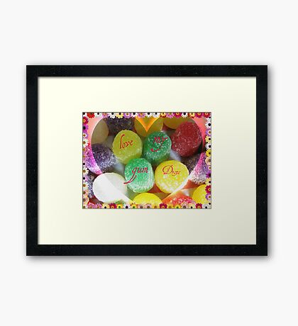 Just For Fun- Card Framed Print
