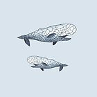 happy whale by mariadurgarian