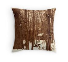 020711-44  ONCE UPON A TIME WE ALL LIVED DEEP IN THE FOREST... Throw Pillow