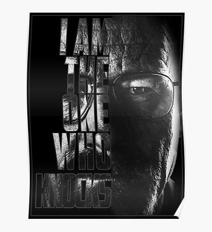Breaking Bad Knocks Poster