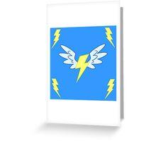 My little Pony - Wonderbolts Cutie Mark Greeting Card