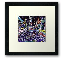 City of Lights Framed Print