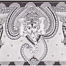 Ganesha- The perfect start by Devi Senthil