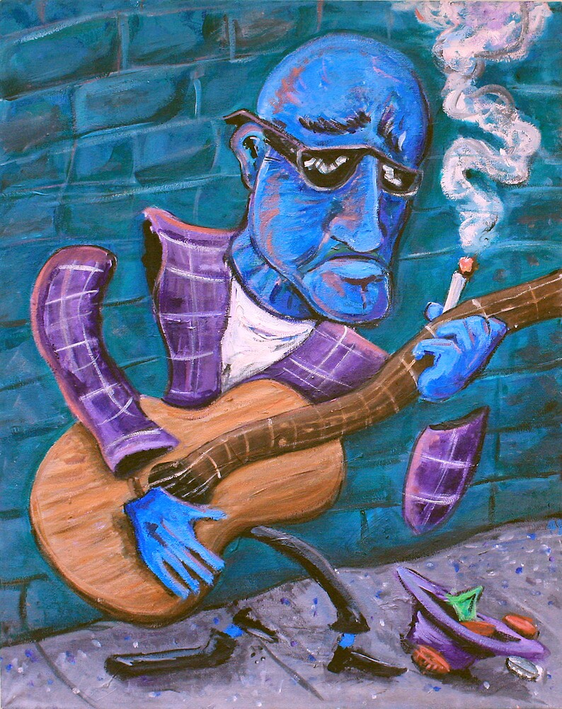 Po' Man's Blues by Jason Gluskin
