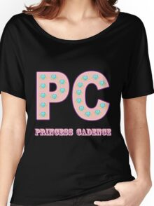 My little Pony - Initials Princess Cadence - Black Women's Relaxed Fit T-Shirt