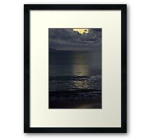 Untitled- Water Night Framed Print