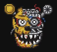 I am still here. - Five Nights at Freddy's 3 - Pixel art Baby Tee