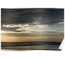 Untitled- Abstract Beach Poster