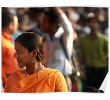 Orange Sari (Kolkata) Poster