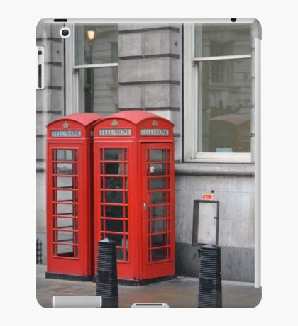 Telephone Boxes iPad Case/Skin