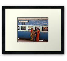 Howrah Train Station (Kolkata) Framed Print