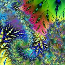 Fractal Weeds by Julie Everhart