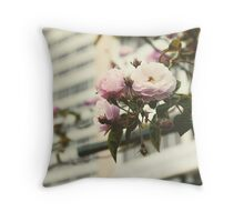If I had a rose for every time I thought of you, I'd be picking roses for a lifetime.  Throw Pillow