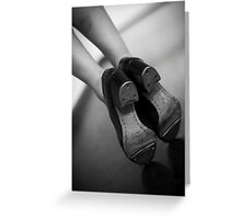 Tap toes Greeting Card